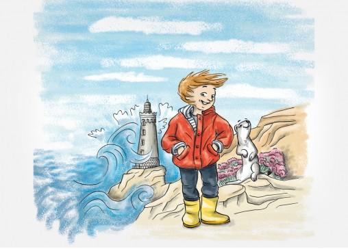 jeu cartes illustration jeunesse Bretagne magaliac