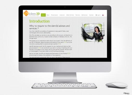 webdesign technologie process industrie magali ac