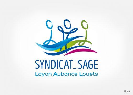 logotype syndicat rivières graphiste angers magaliac