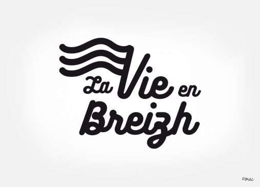 logotype Bretagne collection carte postales magaliac