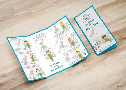 méditation enfants dessins jeunesse plaquette magaliac