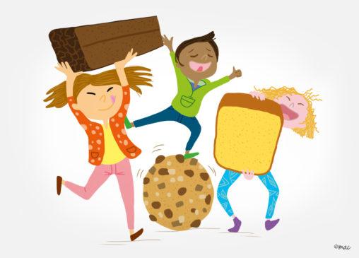 goûter illustration enfants association illustrateur magaliac