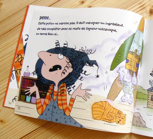 livre jeunesse sorcière fusée aventure magaliac