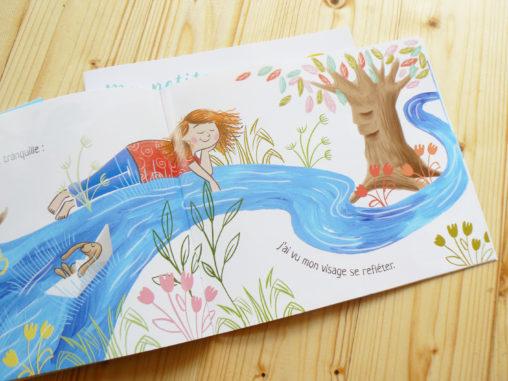 livre jeunesse rivière poésie nature magaliac