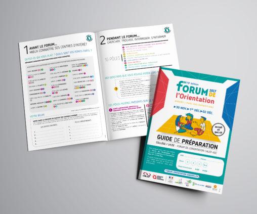 brochure pédagogique forum orientation événement magaliac