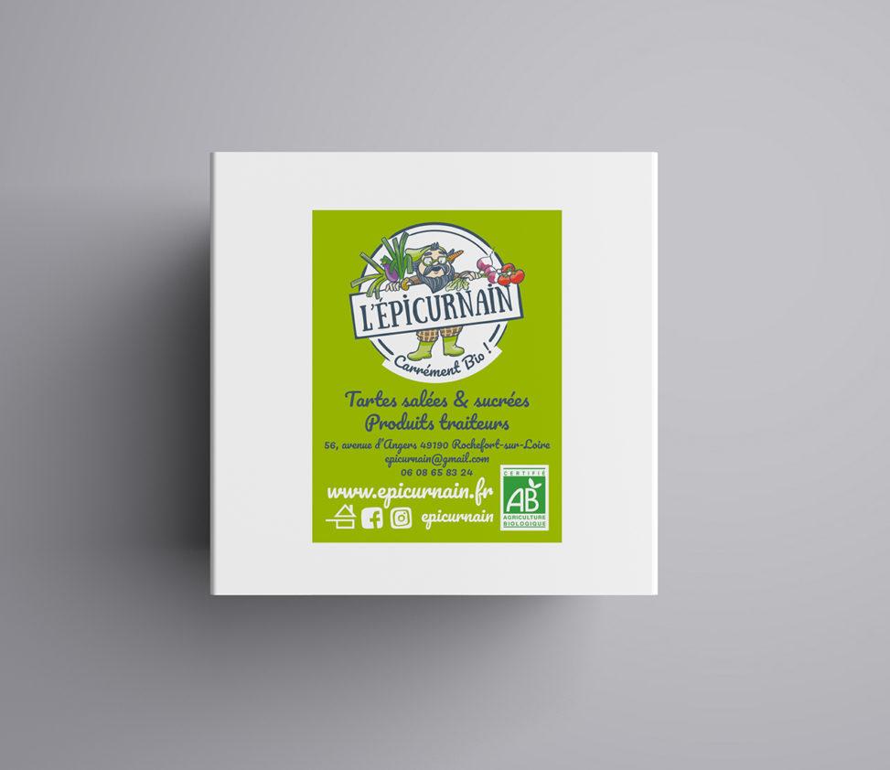 étiquette produit producteur traiteur bio magaliac