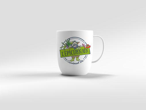logo mug producteur traiteur bio magaliac