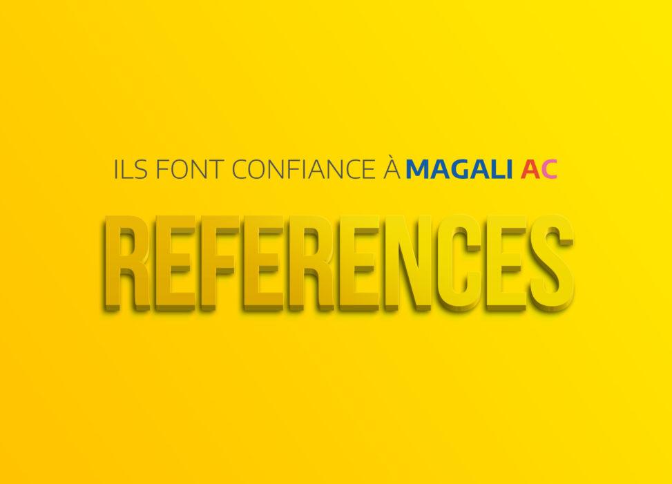 references clients graphiste illustrateur magaliac
