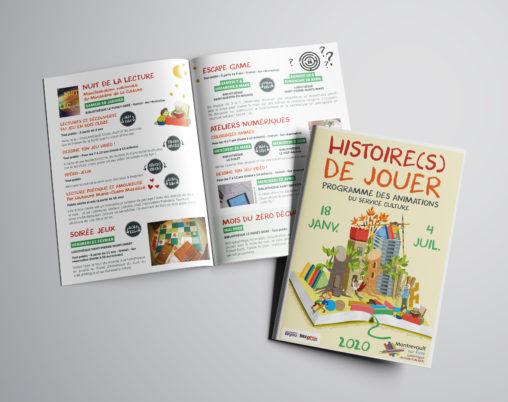 programme culturel événement culturel parents enfants service culture collectivité illustrateur Anegsr grphiste Angers magaliac