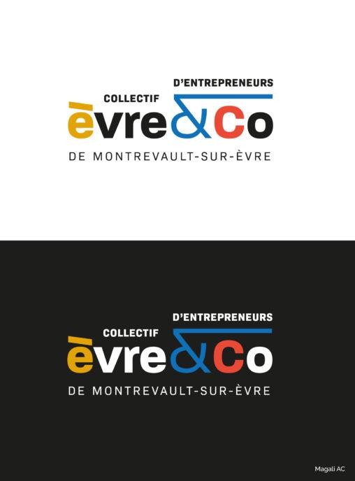 logo identité visuelle collectif entrepreneurs territoire bassin économique couleurs richesse diversité économique Montrevault-sur-Èvre Les Mauges graphiste Angers